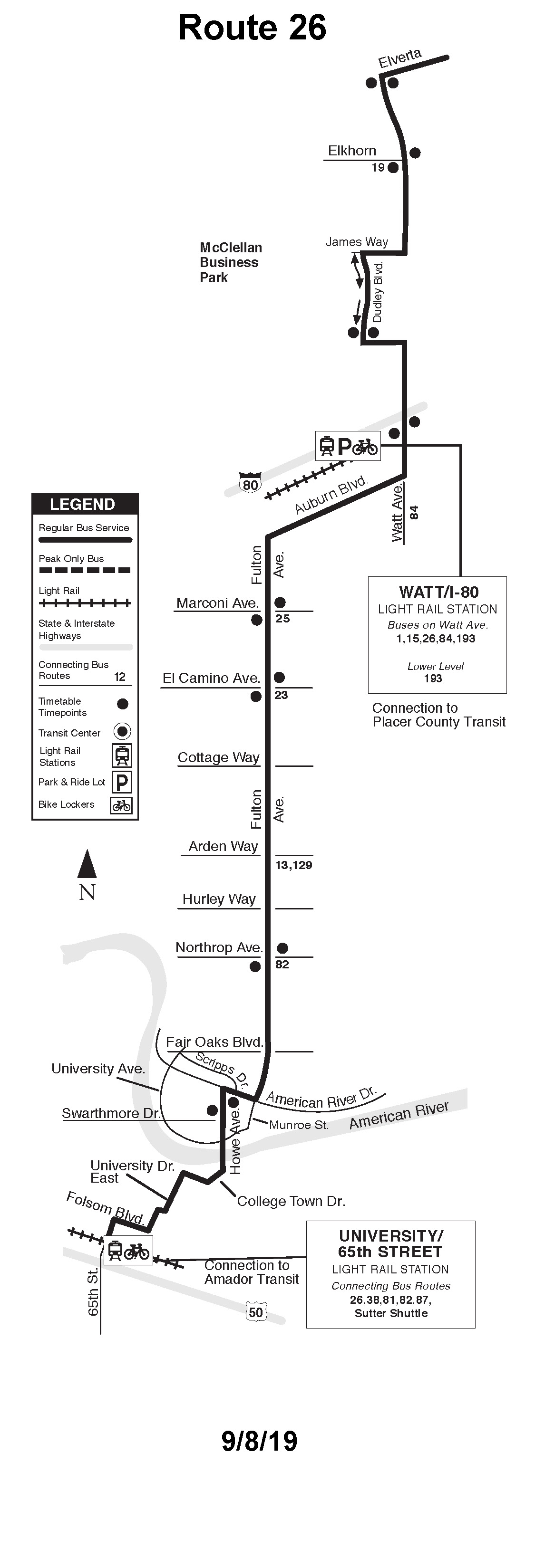 Sacramento Rt Route 26 Transit Wiki