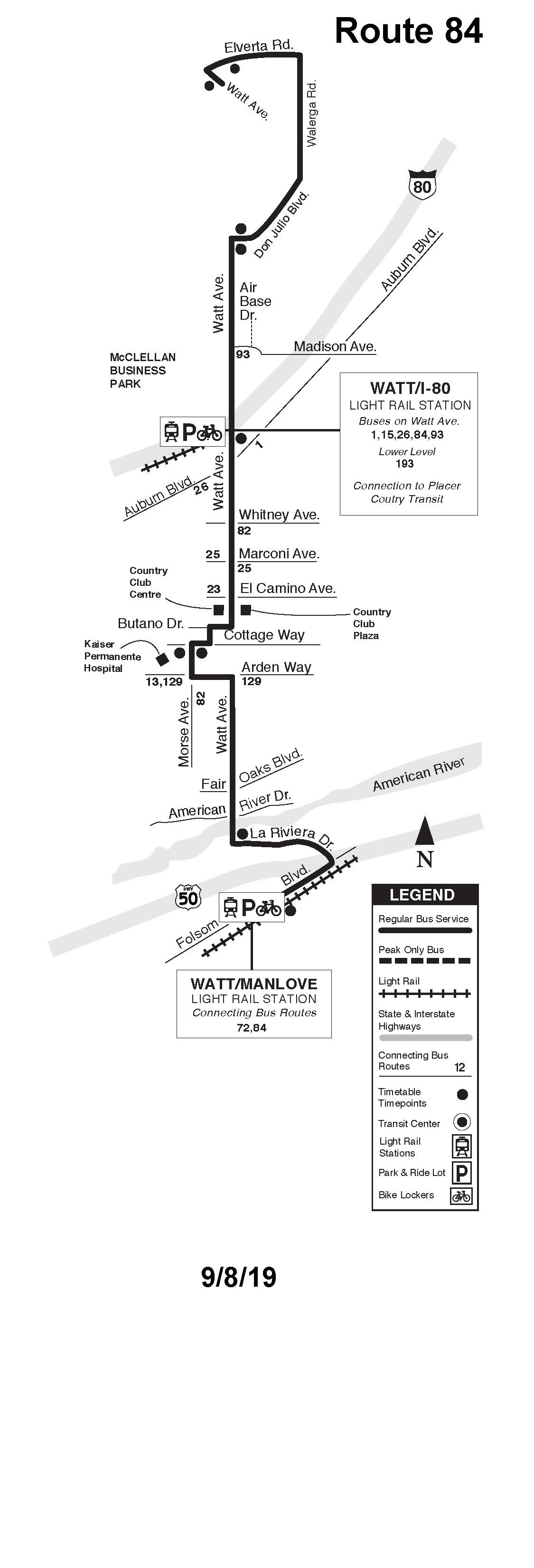 Sacramento Rt Route 84 Transit Wiki